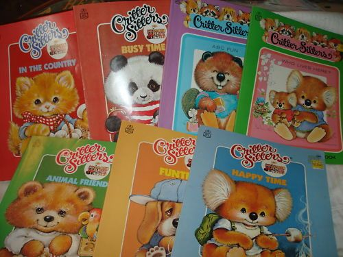 Critter Sitters- I still have two of these coloring books that @Robyn Stewart and I colored in.