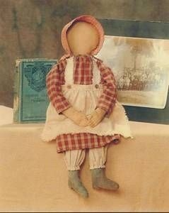 Amish Doll  -  I love these little dolls and have them dotted around The Gingerbread House.  They just 'fit in' as if they were here all the time.