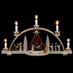 17 best images about candle arches schwibbogen on for Arch candle christmas decoration