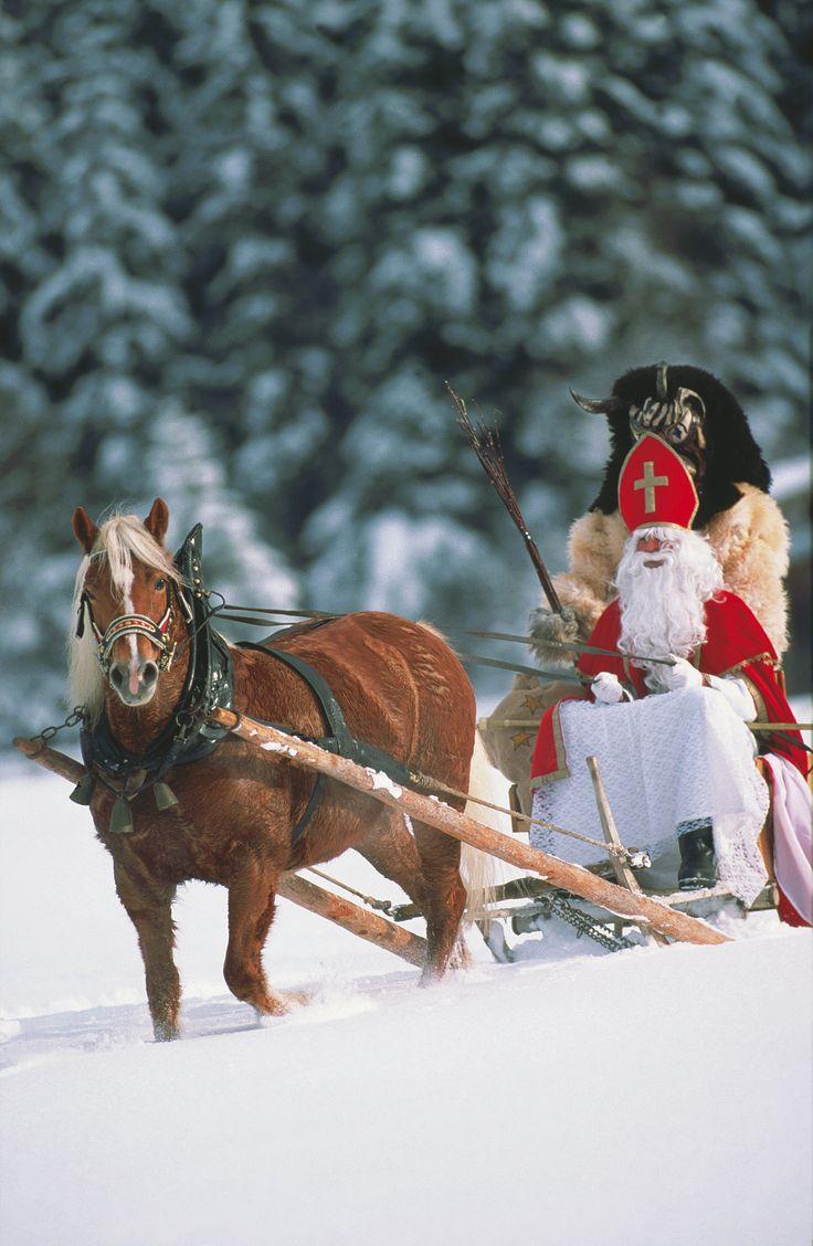Nikolaus und Krampus
