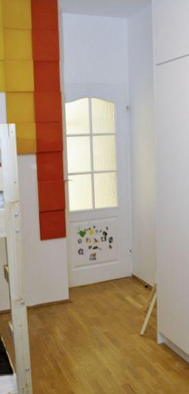 Zdjęcie z realizacji. Fluffo w Dekoratornia.tv, panele Pixel.