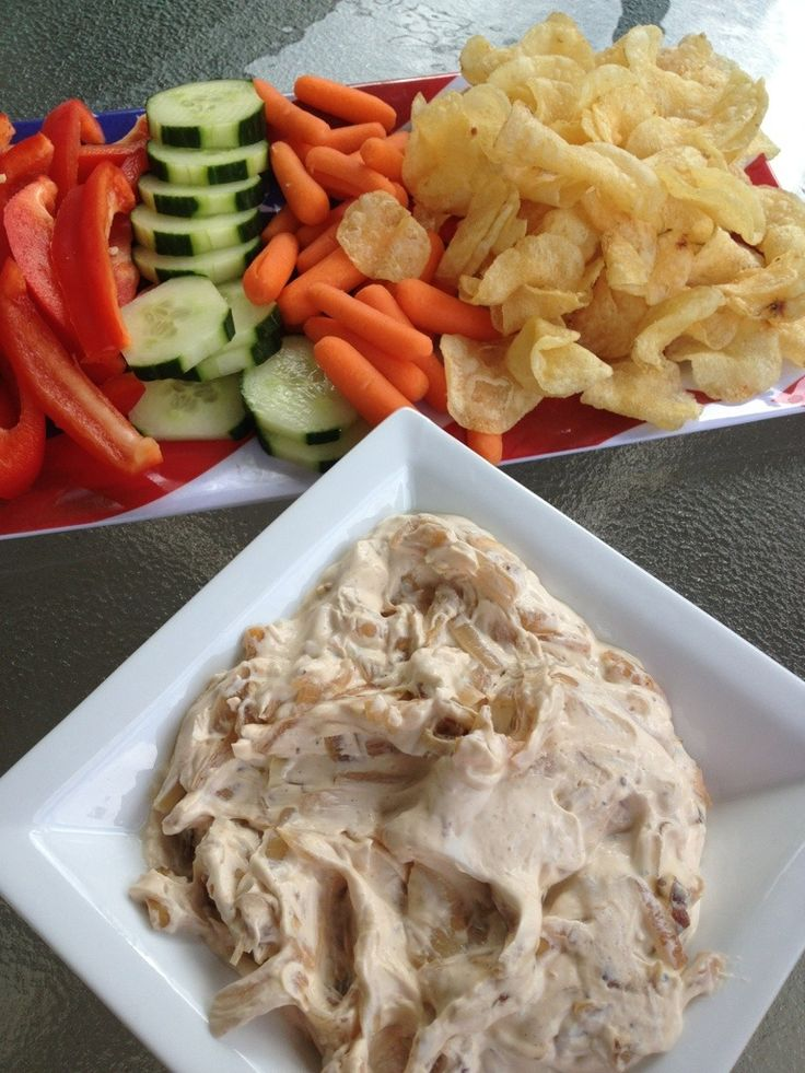 caramelized onion dip | Foods and Yums | Pinterest