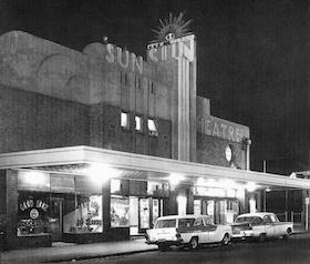 The beautiful Sun Theatre - Yarraville, Victoria