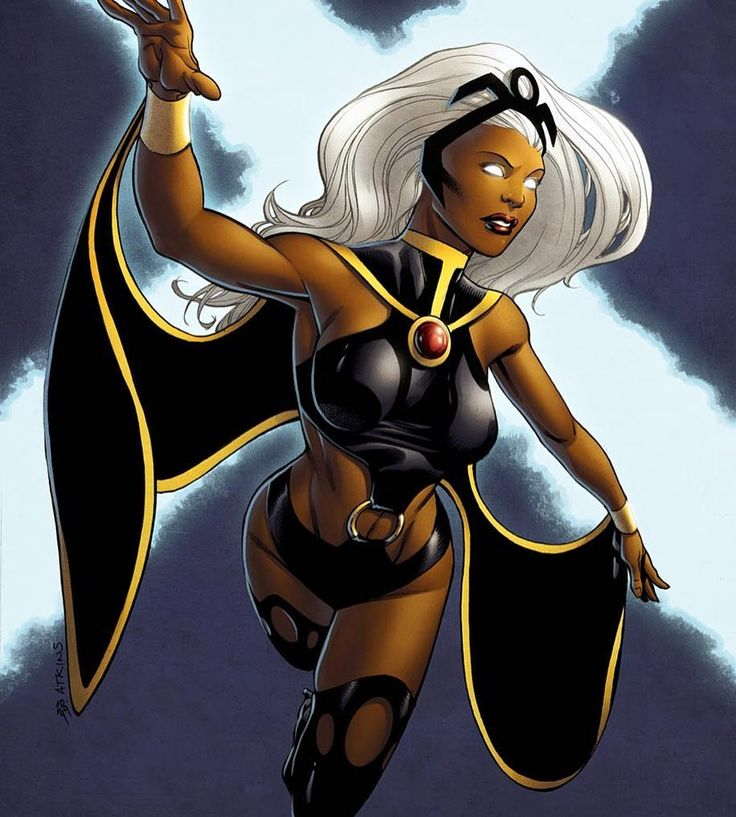 #type4challenge Day 18 Jo's Favorite Female Superhero: Storm. #representationmatters #xmen #storm #superhero #supershero #igeverydayblm #photoadaychallenge #type4naturals