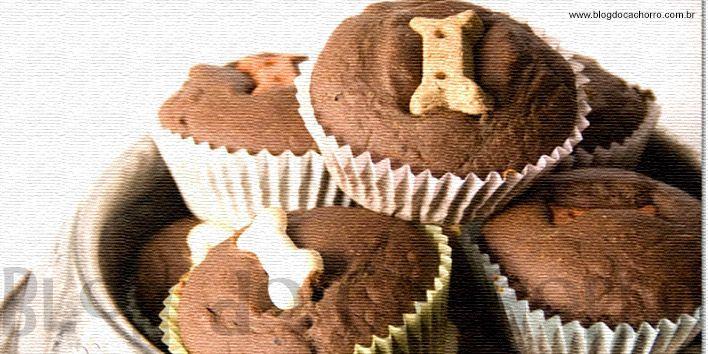 Receitas para cachorro - Cupcakes para cães