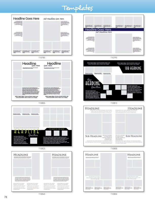 yearbook page template free - 26 best interesting spread layouts images on pinterest