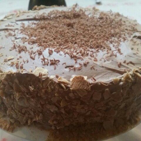 Tarta de chocolate expreso