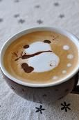 japenese coffee art