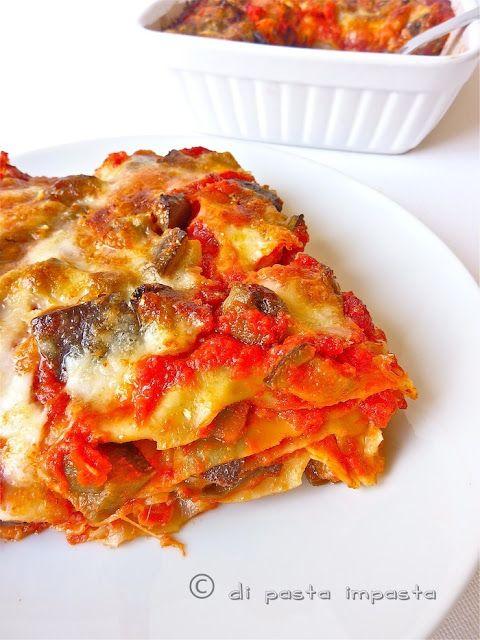Di pasta impasta: Lasagne con le melanzane