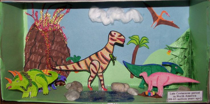 Make Your Own Diorama: 21 Best Images About Dinosaur Diorama On Pinterest