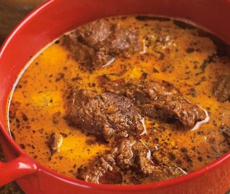 Lamb In Green Cardamom Curry Recipe: delicious with leftover lamb too