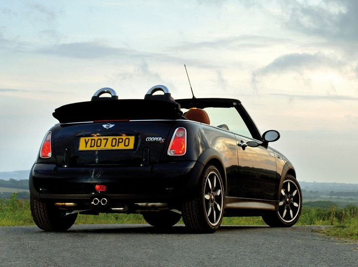 "Mini Cooper S Cabrio ""Sidewalk"" UK-spec (R52) '2007"