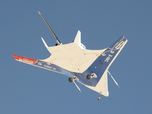 X-48C Blended Wing Body aircraft flight testing campaign comes to a close