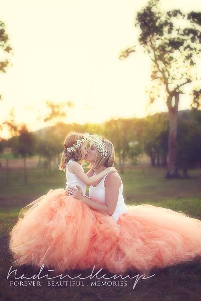 I want to do a mommy and me with my princess!! Love the matching tutu's :)