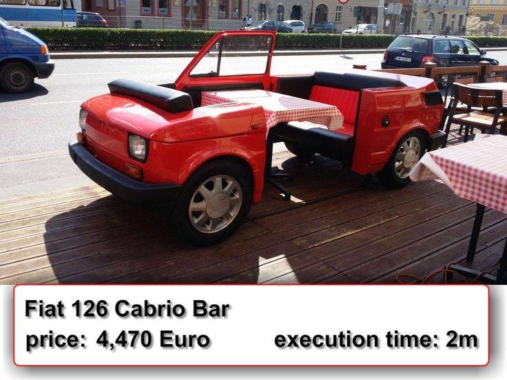 Fiat 126 Cabrio Bar