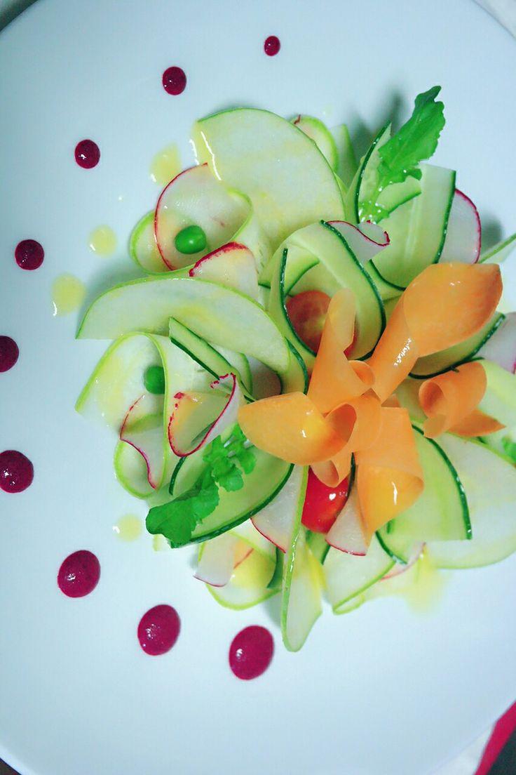 Carpacio đi verdure#chef#Eny#,