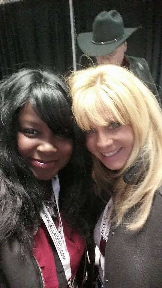 irlene mandrell and gwenhana with southside drive in the