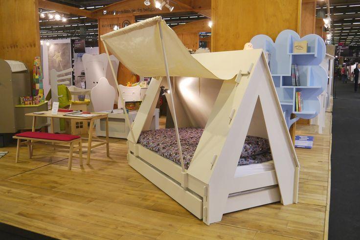 Lit bébé et enfant en forme de tente canadienne