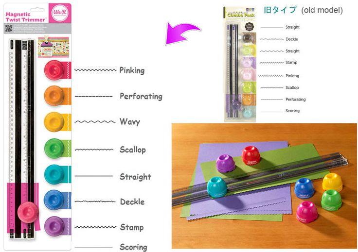 """Paper trimmer : Magnetic Twist trimmer / 1set Ini adalah """"Paper trimmer"""" buat motong kertas. -Kelebihan alat ini, bagian penggarisnya menggunakan magnet sehingga bisa di letakkan di sembarang tempat, apabila menggunakan """"magnetic mat"""". (tatakan yang bisa ditempelin magnet) -Bisa juga di pakai tanpa """"magnetic mat"""" , namun ... tentu saja fungsi magnetnya tidak berguna -Ruller and cutting set : sudah berikut pisau yang lurus (standard)"""