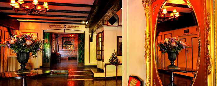 The Inglenook Restaurant at The Cresta Churchill hotel, Bulawayo, Zimbabwe