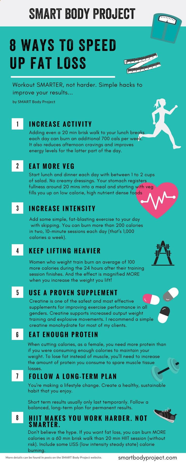 Plus the 5 supplements to boost results you need to know about!