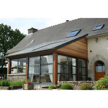 1000 id es sur le th me toiture ardoise sur pinterest toit en ardoise plan - Veranda avec toiture tuile ...