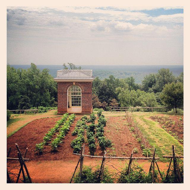 Monticello President Thomas Jefferson Home Charlottesville Virginia Garden IMG_9685, via Flickr.