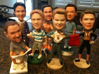 Groomsmen Gifts - bobble heads