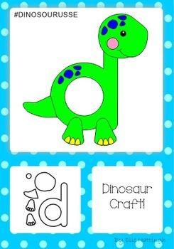 Dinosaur templates freebie