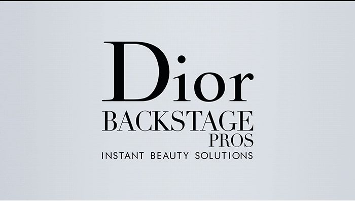 #DIOR BACKSTAGE PROS - INSTANT BEAUTY SOLUTIONS  Sent July 22, 2016