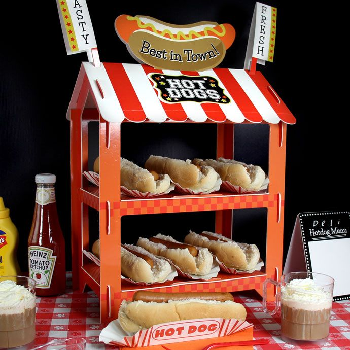 Super Bowl Party Decorations Uk: 1000+ Ideas About Hot Dog Stand On Pinterest