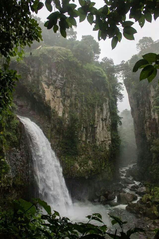 Atractivos turísticos del México:Sierra Zongolica. Ubicación: Veracruz.