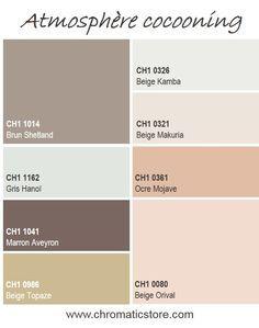 Le style cocooning se caractérise par l'association de couleurs sobres. Pour plus de subtilité et de chaleur, privilégiez l'utilisation de beiges ou de gris colorés. www.chromaticstore.com #inspiration #deco #style #cocooning