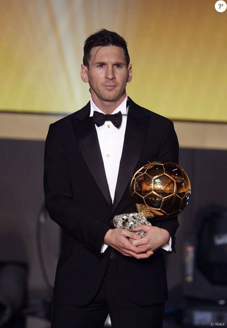 Lionel Messi Ballon d'Or en janvier 2016.