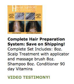 hair loss shampoo gift set $118.99