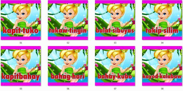 Mga Tambalang Salita IM's Printable - DepEd LP's