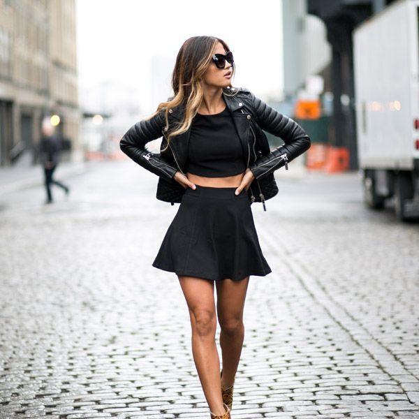 Minifalda negra, un clásico que reconquista la noche | La Clé Privée