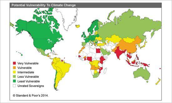 Altro che spread. Standard & Poor's ora guarda ai cambiamenti climatici   BUONGIORNO SLOVACCHIA