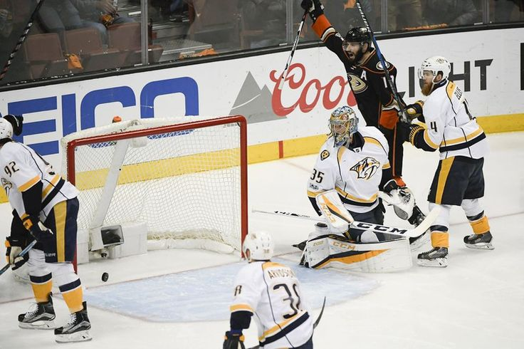 NHL playoff scores 2017: Ducks even series with Predators after goalie duel of mediocrity