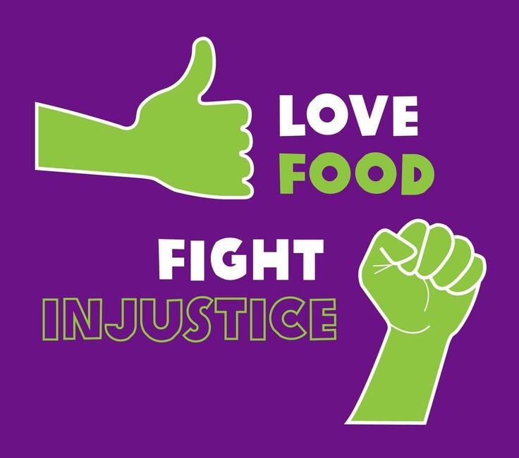 GROW #lovefoodhateinjustice