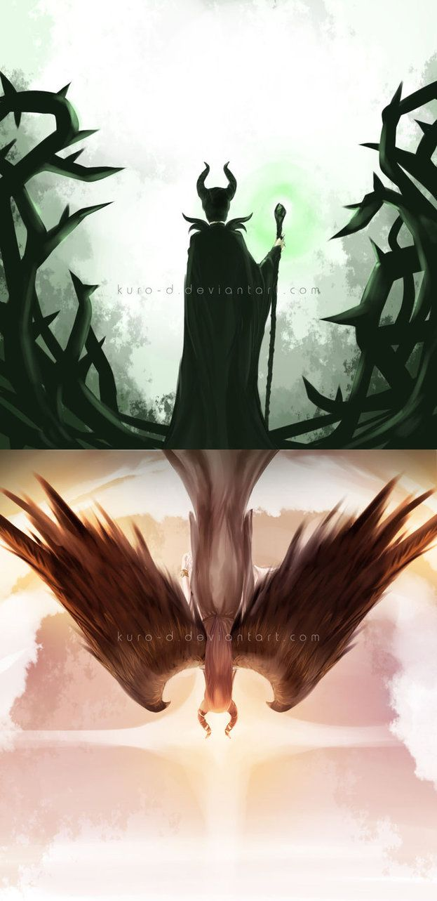 This movie was a wonderful example of how even those in the depths of despair and fury do not always stay that way. They are not doomed to fate as many believe. Incredible artwork Maleficent by Kuro-D on deviantART