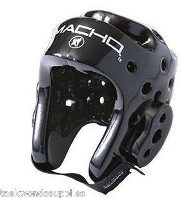 Macho Dyna Karate Sparring Head Gear All Sizes and Colors
