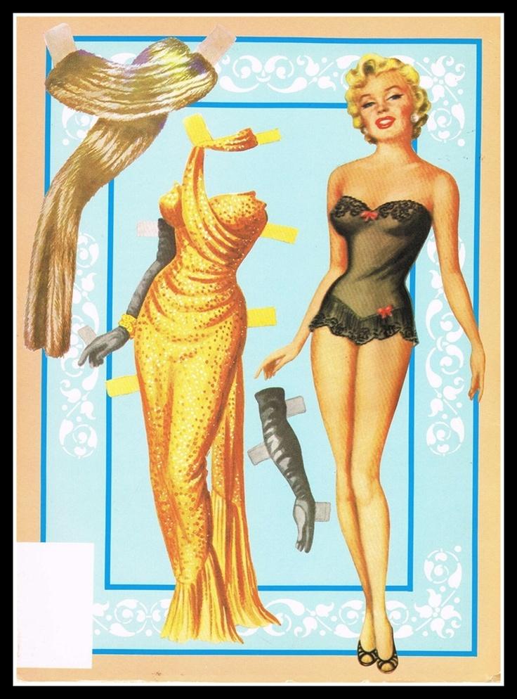 Marilyn Paper Doll