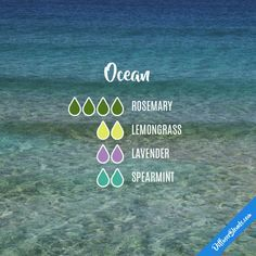 This diffuser oil blend sounds like it would be perfect for this summer!