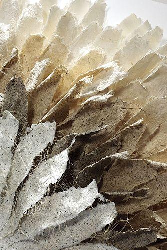Gill Wilson - Solar (detail from a circular paper sculpture)