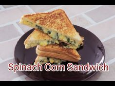 Cheesy Spinach Corn Sandwiches are very delicious and easy to make. You can make it for breakfast , as an evening snack or pack in your lunch box. An easy wa...