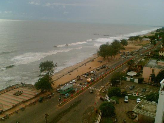 Calicut Beach a skyline view