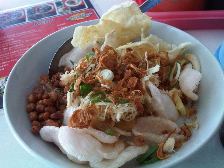Bubur Ayam Syarifah Menu Sarapan Favorit di Yogyakarta - Kuliner Yogyakarta