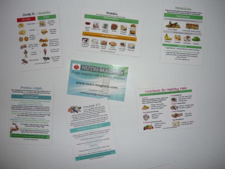 NUTRi-MAGNEts! Just some samples www.nutri-magnets.com