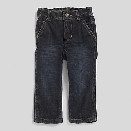 Tommy Hilfiger Little Boys Jean. For Those Tough Days At The Sand Box Our Durable Cargo Jeans. Equal Parts Comfy And Cute With Super-Cool Fading Down The Legs. 100% Cotton. Elastic Waist,... More Details